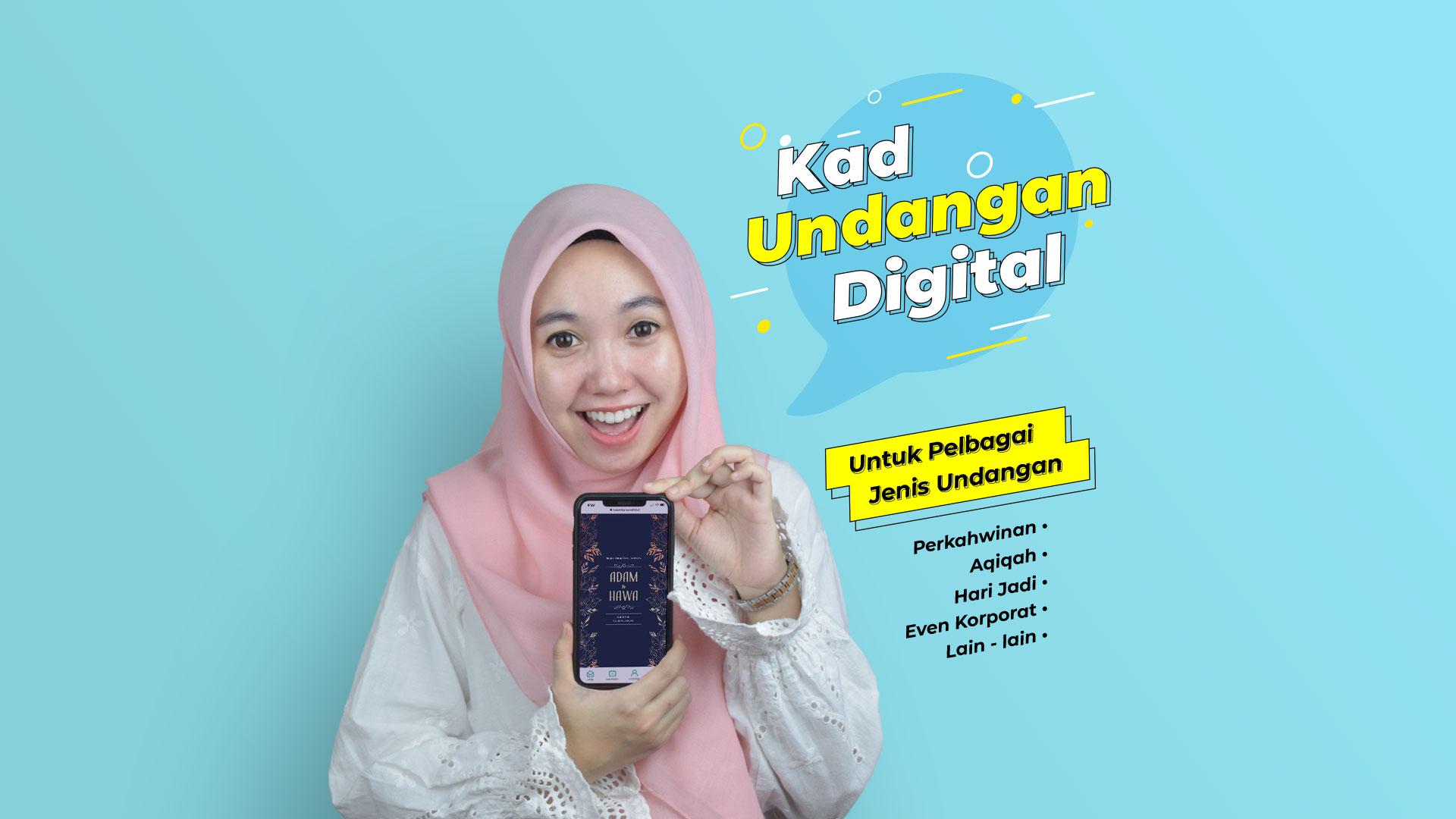 Kad Kahwin Digital atau eKad/eCard